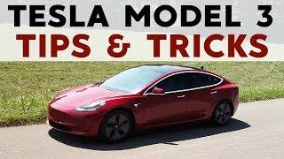 Tesla Model 3: Top 20 Tips & Tricks!