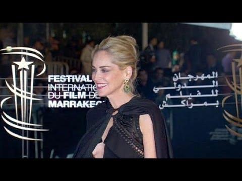 Image video شارون ستون وعادل إمام يرقصان في افتتاح «مراكش للفيلم