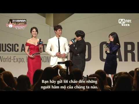 [Vietsub] 161202 Park Bo Gum Red Carpet MAMA 2016