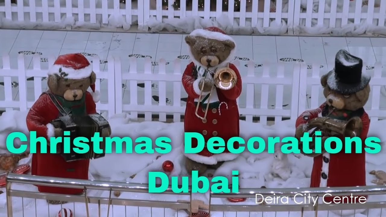 christmas decorations 2010 dubai youtube
