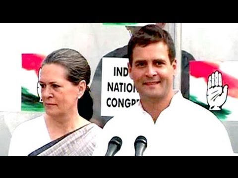Sonia, Rahul Gandhi on Congress' defeat