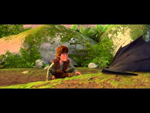 How To Train Your Dragon: Forbidden Friendship Scene 4K HD