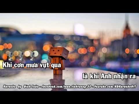 Karaoke Ký Ức Còn Đâu _Minh Vương ft. Hồ Quang Hiếu Full Beat