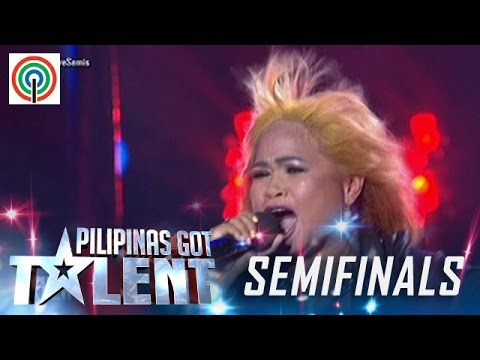Pilipinas Got Talent Season 5 Live Semifinals: Dona Aguirre - Lola Rakista