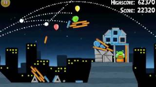 Official Angry Birds Walkthrough For Theme 7 Levels 11-15