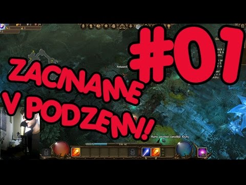 Let's play Drakensang Online CZ - Začínáme v podzemí? :O #01