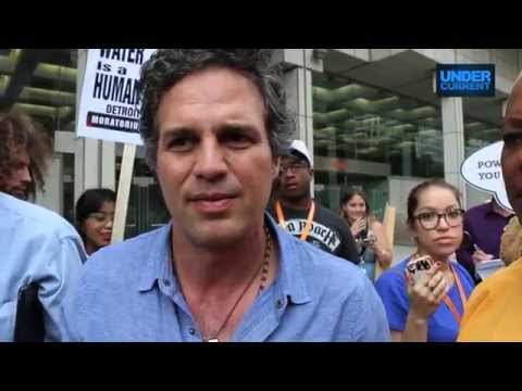 Mark Ruffalo: Detroit Water Shut-offs a Humanitarian Crisis