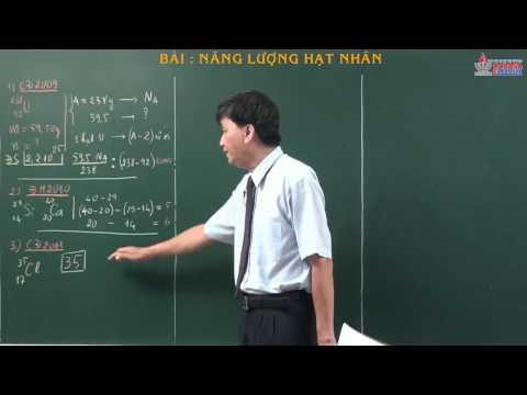 Chuyên đề vật lý 12 - Hạt nhân nguyên tử - Năng lượng hạt nhân - cadasa.vn