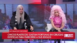 Chicos plásticos: Gastan fortunas en cirugías estéticas para parecerse a sus ídolos