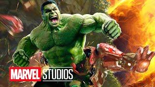 Avengers Infinity War Trailer Hulk Hulkbuster Scene and Captain America