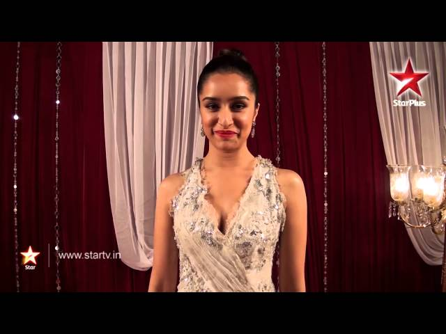 Shraddha Kapoor has a special message at the STAR Guild Awards