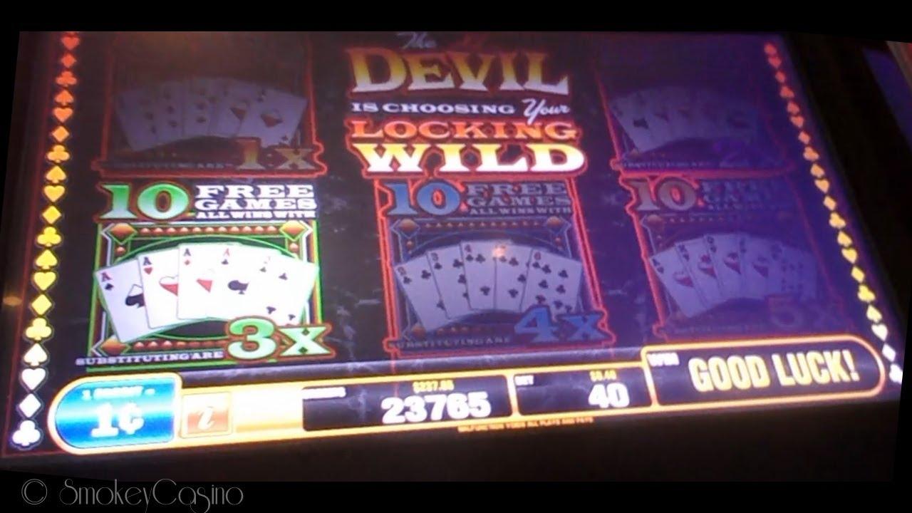 hand of the devil slot handpays