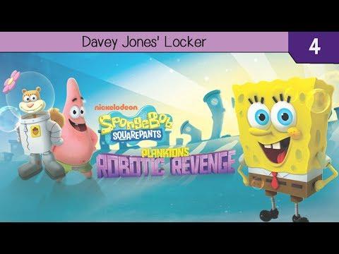 SpongeBob SquarePants: Plankton's Robotic Revenge 3DS - Part 4 - Davey Jones' Locker