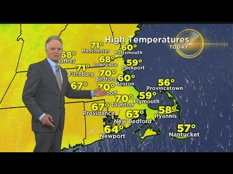 WBZ Morning Forecast For May 20