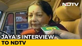 Watch: NDTV's Interview With Tamil Nadu Chief Minister Jay..