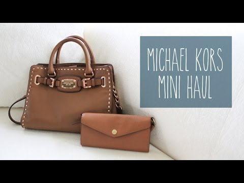 Mini Haul • Michael Kors  |  sarahhtranTV