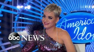 Katy Perry swoons over 'American Idol' contestant
