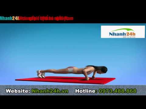 Hướng dẫn tập thể dục - Bài tập ngực 1 - Nhanh24h.vn