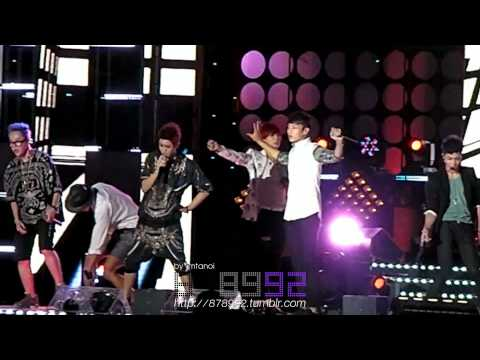 Fancam BEAST 120723 Beautiful Night by imtanoi
