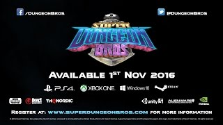 Super Dungeon Bros - Launch Date Announcement Trailer