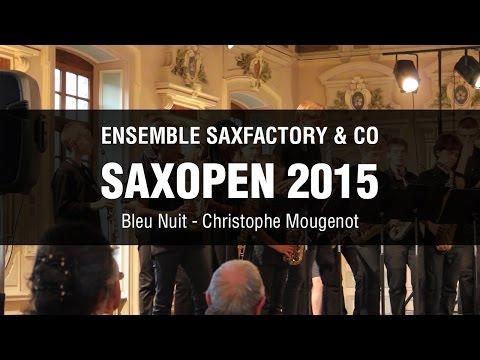 SaxOpen 2015 – SaxFactory & Co – Bleu Nuit, Christophe Mougenot