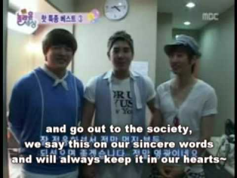 [ENGSUBS] TVSCOOP: Super Junior (Kangin, Shindong, Eunhyuk) Reaction to Inmates Dancing SORRY SORRY