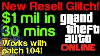 NEW GTA 5 Online LSC Resell Glitch (Post 1.04) Infinite