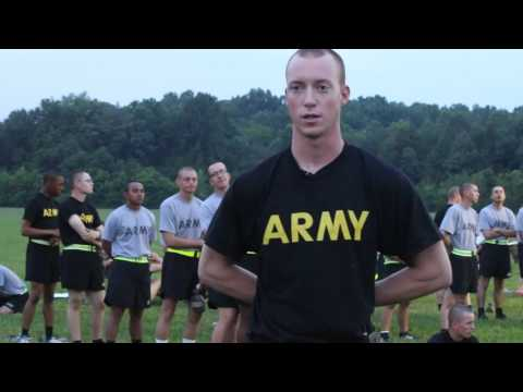 5th Regiment, Basic Camp 2017 | Army Physical Fitness Test