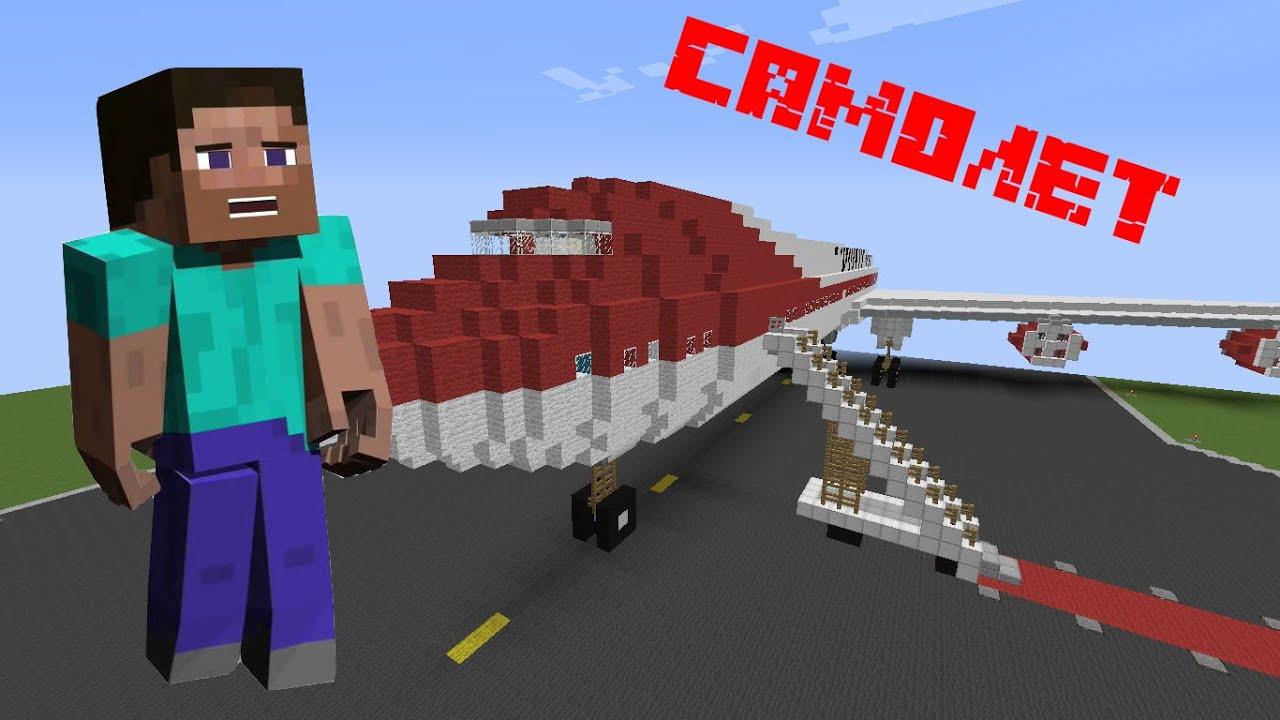 Minecraft как сделать самолёт фото 73