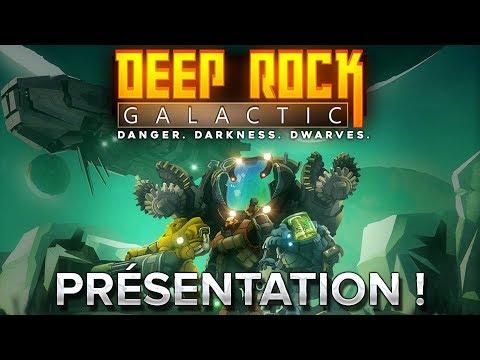 Deep Rock Galactic : Présentation en 1min42