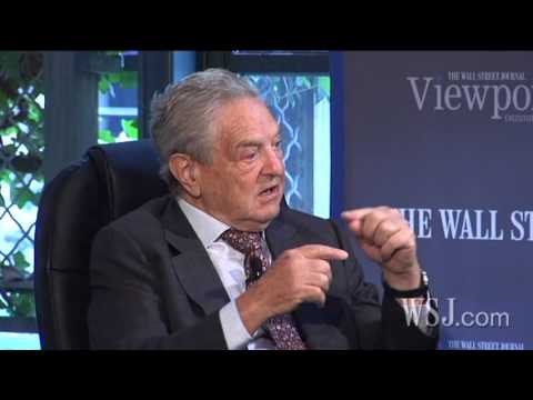 "George Soros Speaks with Alan Murray for The Wall Street Journal's ""Viewpoints"" Series"