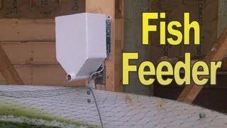 Otomatik Balık Besleme Sistemi Nasıl Yapılır
