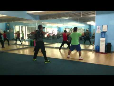 Sunpower zumba dance workout