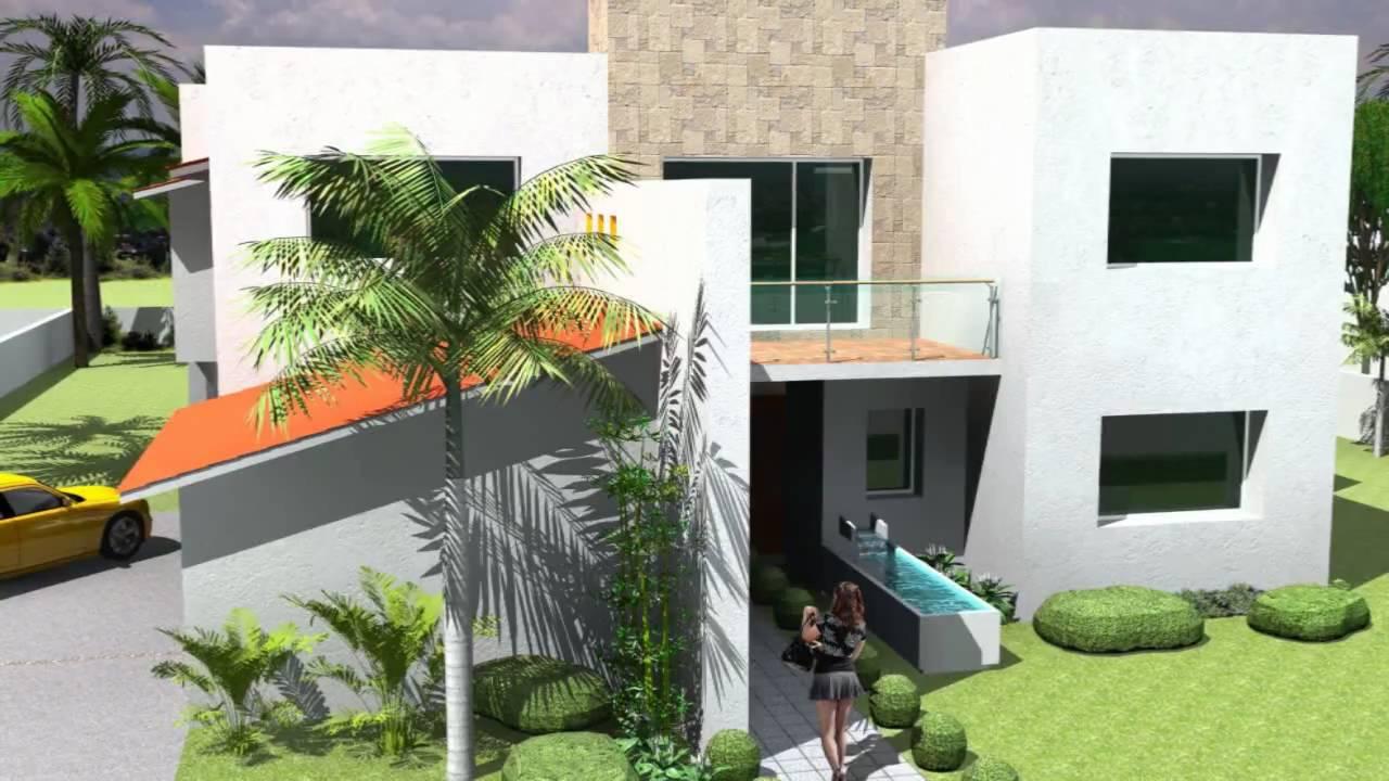 Casa contempor nea en m xico youtube for Piani casa contemporanea casa