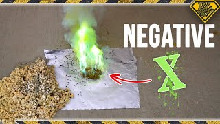 Make Green Fire with a Drop of Water