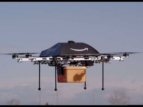 Amazon Drone Delivery Service Jeff Bezos Drones Testing Future Of Package Delivery
