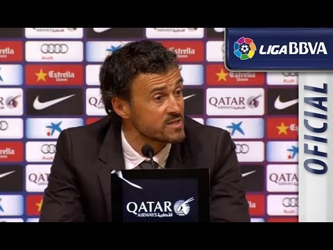 Rueda de Prensa | Press Conference de Luis Enrique tras el FC Barcelona (3-0) Celta de Vigo - HD