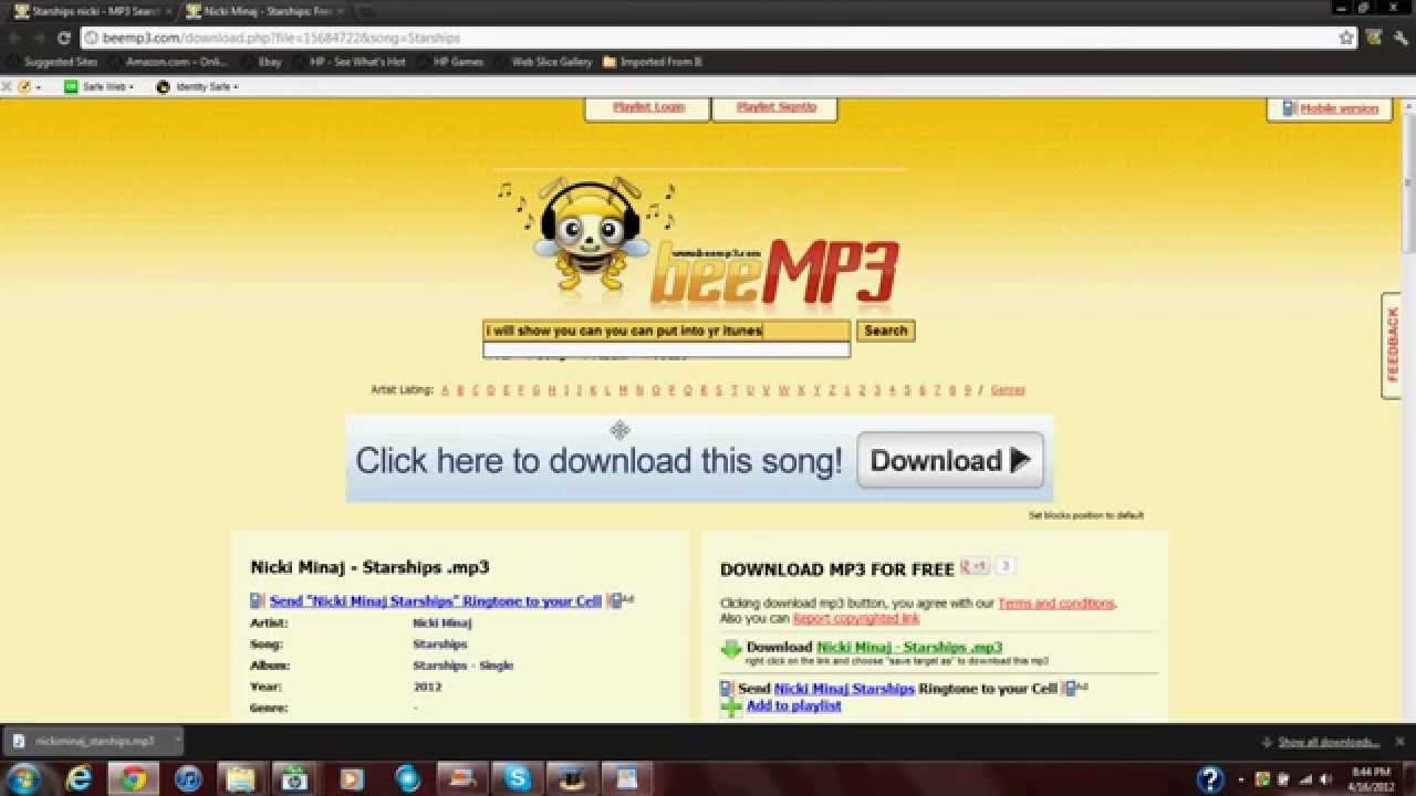 how to download songs to computer from youtube