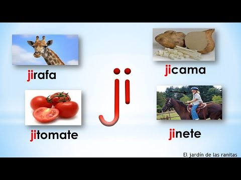 # 15 Sílabas ja je ji jo ju - Syllables With J