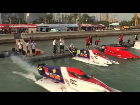 F1H2O QATAR 2014 - Highlights
