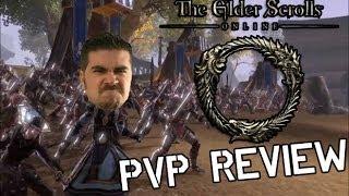 Смотр PvP составляющей (Eng) - The Elder Scrolls Online / Ролики