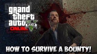 GTA 5 Glitches How To Survive Any Bounty ! GTA 5