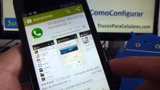 Como Descargar Whatsapp Gratis Para Huawei Ascend Y300