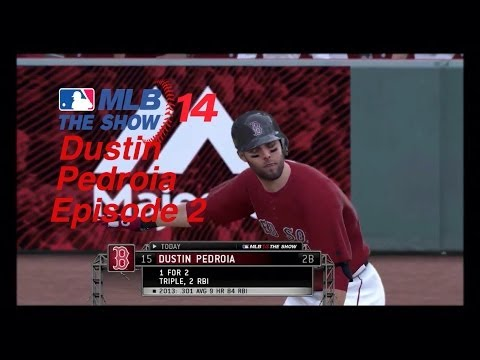 MLB 14: The Show Player Lock Dustin Pedroia Episode 2