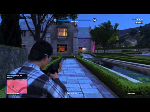 GTA V Online How To Rank Up & Get Money Fast
