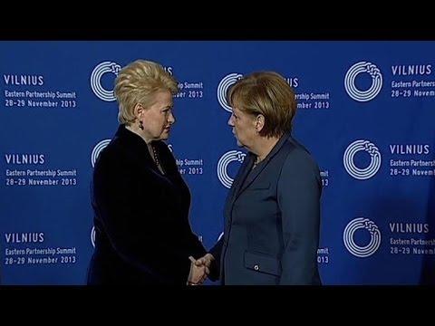 Sommet de Vilnius: Merkel