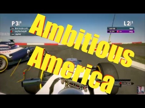 F1 Game 2012 - Ambitious America