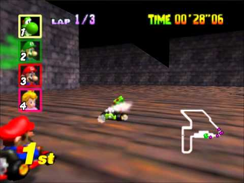 Mario Kart 64 - Racing the SPECIAL CUP Extra (Nigcatt) - User video