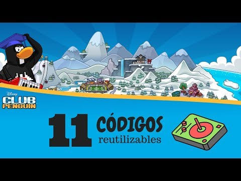11 Codigos reutilizables de Club Penguin