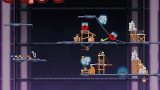 Angry Birds Star Wars 2 Level P3-20 Battle Of Naboo 3-Star